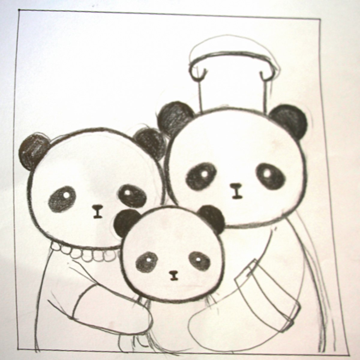 Sketch for Daxi's family